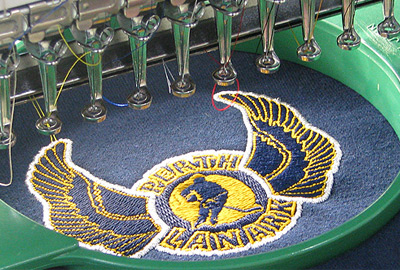 Custom Embroidery by Elite Engraving and Embroidery