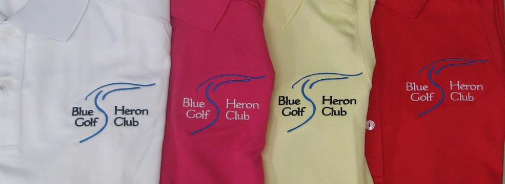 Blue Heron Golf Club shirts